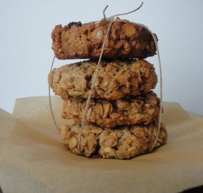 Płatki owsiane - ciastka