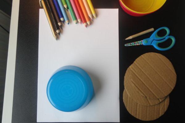 Kolorowy spinner - przybory