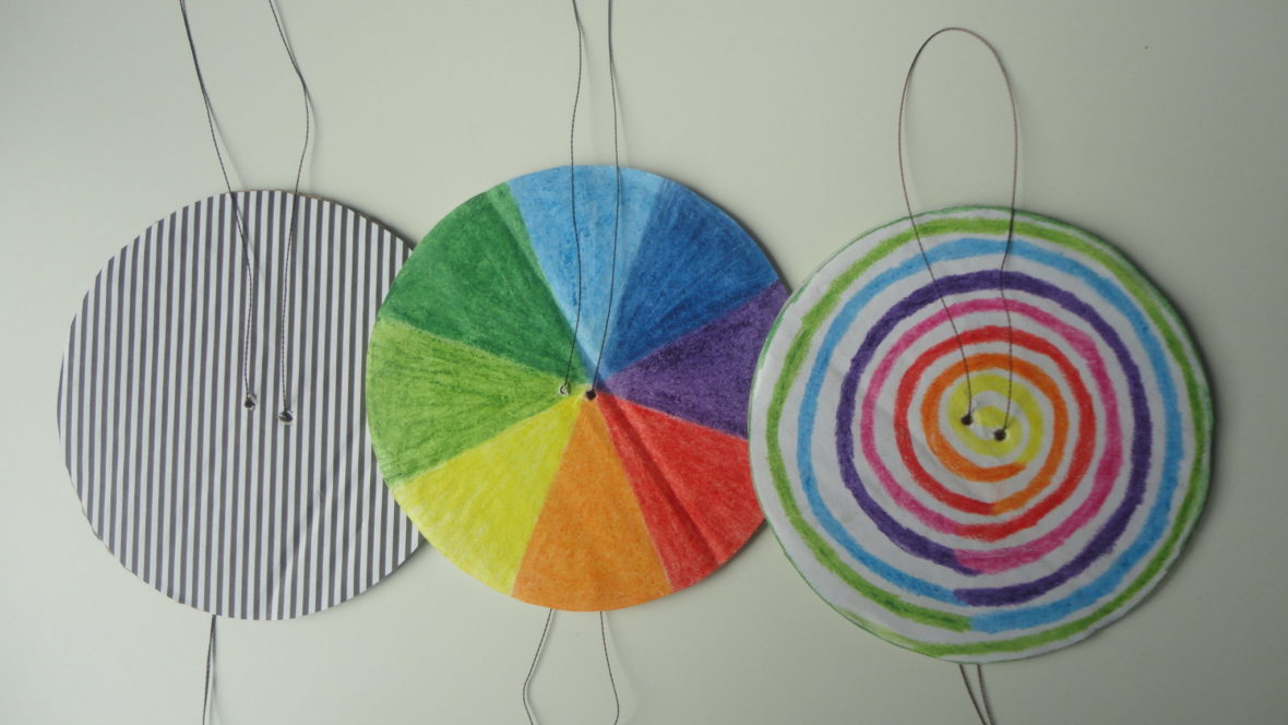 Kolorowy spinner