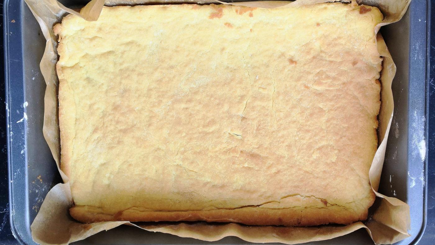 Malinowa chmurka - kruche ciasto