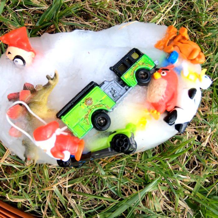 Zabawa z lodem - Zabawki w lodzie