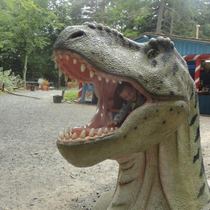 Park dinozaurów w Szklarskiej Porębie