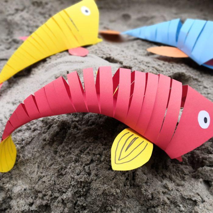 ryba z papieru