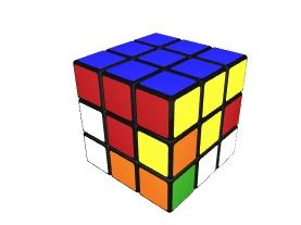 Kostka Rubika - krok 1