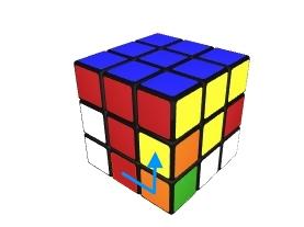 Kostka Rubika - krok 2 Finished 1