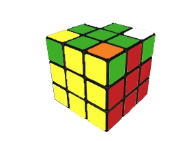 Kostka Rubika - krok 3 Finished 3