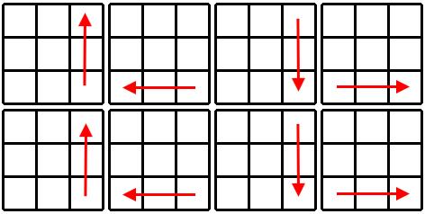 Kostka Rubika - schemat krok 5