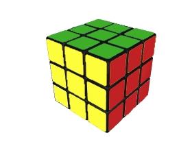 Kostka Rubika - ułożona