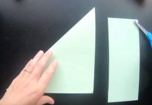 Ryba z papieru krok 2