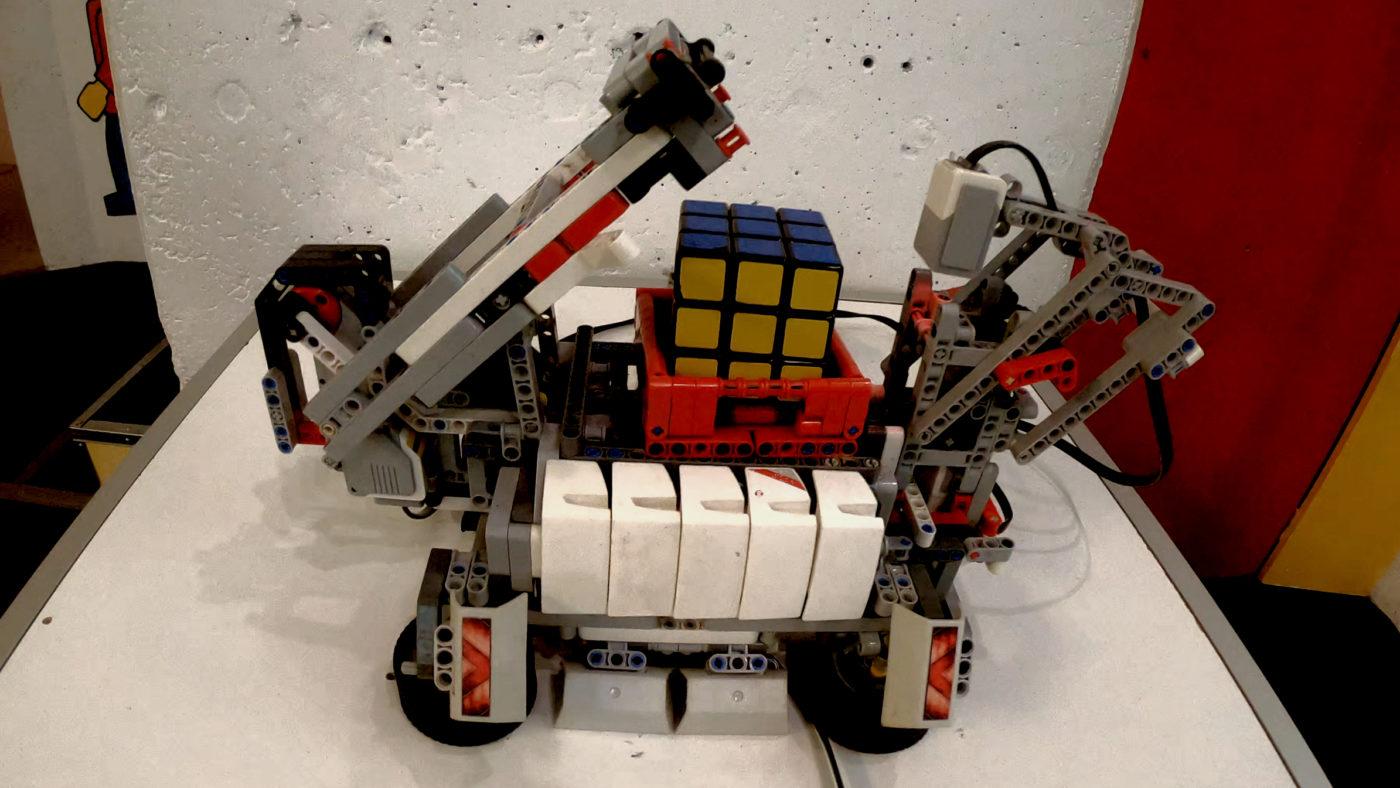 Kostka Rubika - Lego Robot