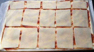 Ślimaczki z ciasta francuskiego - krok 1