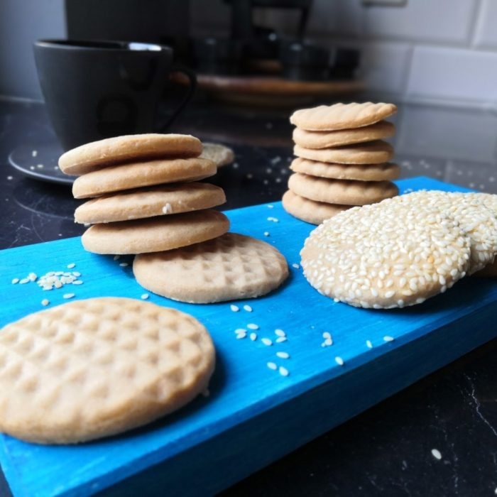 Łatwe ciasteczka z chałwą