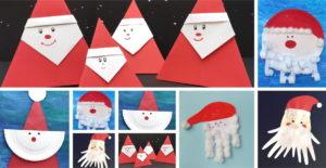 Mikołaj z papieru