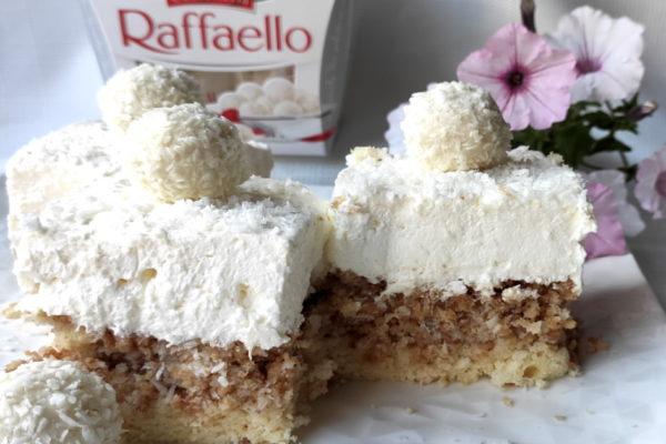 Raffaello na biszkopcie